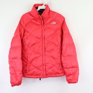 The North Face Womens Medium 550 Down Jacket Pink